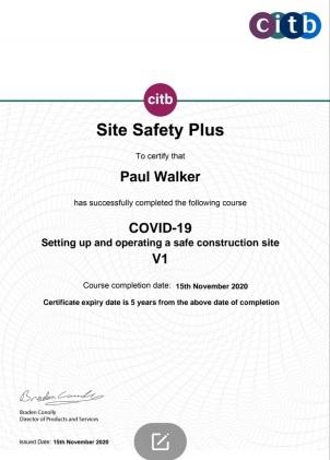 CITB COVID-19 Training