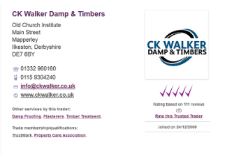 Trusted Trader - Damp & Timber Specialist