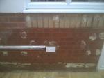 Leaking water pipe in Belper, Derbyshire